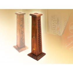 Podstawka Minaret, drewniana