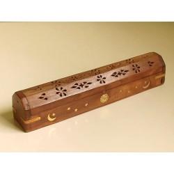 Podstawka piórnik, drewniana